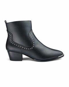 Mhairi Western Boot Wide Fit