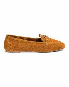 Cassandra Suede Loafer Extra Wide Fit