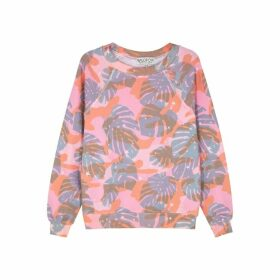 Wildfox Sommers Printed Jersey Sweatshirt