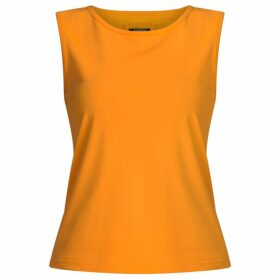 GISY - Holland Orange Boat-Necked Tank Top
