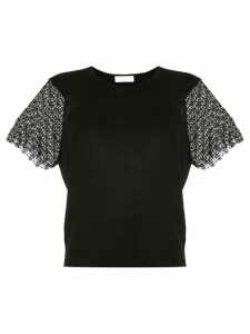 Ballsey embroidered blouse - Black