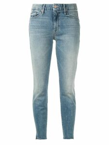Mother The Looker ankle grazer jeans - Blue