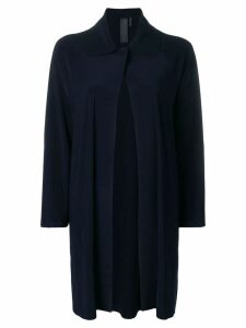 Norma Kamali open front cardigan - Blue