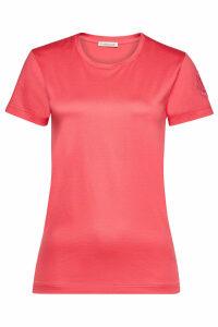 Moncler Cotton T-Shirt with Logo