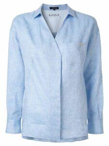 Loveless V-neck shirt - Blue