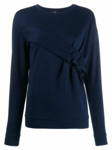 Fay ruched panel jumper - Blue