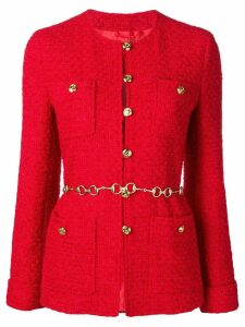 Gucci tweed jacket - Red
