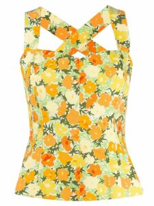 Simon Miller winter blossom tank top - Yellow