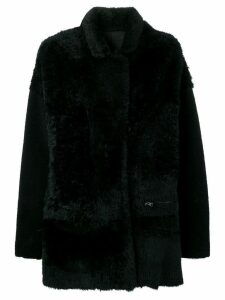 Liska Atlantide midi coat - Black