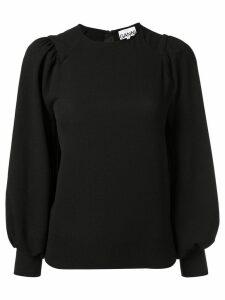 Ganni Clarke blouse - Black