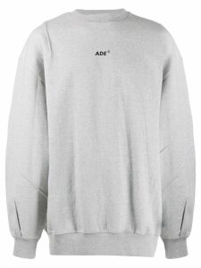 Ader Error logo sweatshirt - Grey