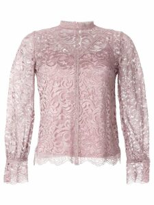 Loveless paisley lace blouse - Pink