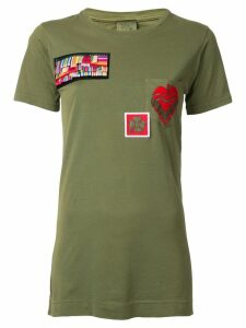 Mr & Mrs Italy patch T-shirt - Green