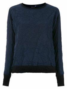 Uma Raquel Davidowicz long sleeved Alien blouse - Blue