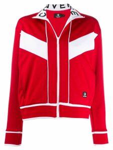 Converse contrast trim jacket - Red