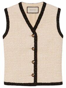 Gucci Tweed vest - Neutrals