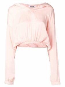 Styland v-neck hoodie - Pink