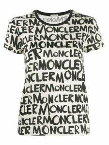 Moncler logo T-shirt - NEUTRALS