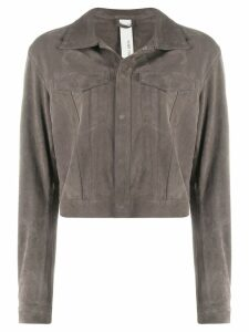 Giorgio Brato snap button jacket - Grey
