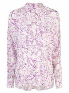 Tibi Isa toile relaxed blouse - White