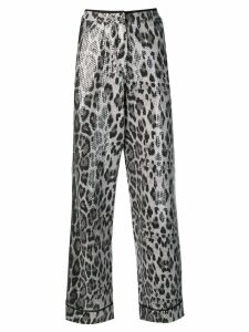 In The Mood For Love sequined Loren trousers - Grey