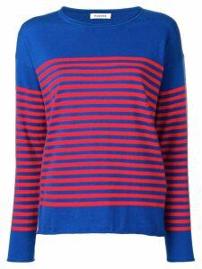 P.A.R.O.S.H. Creed cashmere blend jumper - Blue