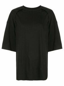 Juun.J oversized T-shirt - Black