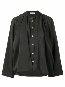 Lemaire loose-fit blouse - Brown