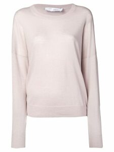 IRO round neck jumper - NEUTRALS