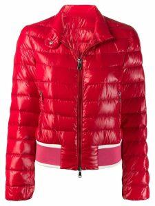Moncler short puffer jacket - Red
