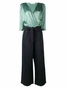 Société Anonyme wrap front blouse - Green