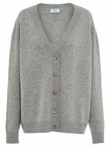 Prada cashmere cardigan - Grey