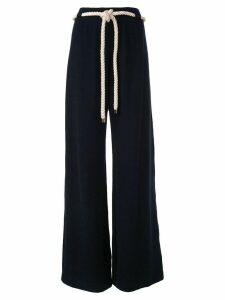 Monse cord tie palazzo trousers - Black