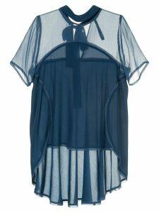 Taylor Tie Capsule blouse - Blue