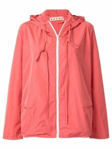 Marni light rain jacket - PINK