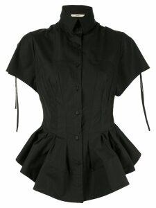 Aganovich peplum shirt - Black