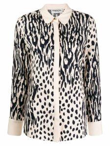 Essentiel Antwerp mixed-print shirt - Neutrals