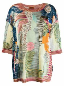 Missoni patterned blouse - Blue