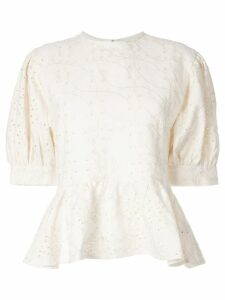 Sir. Cherié tie blouse - White