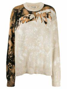 Ottolinger tie-dye oversized jumper - NEUTRALS