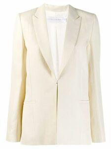 Victoria Victoria Beckham single-breasted blazer - NEUTRALS