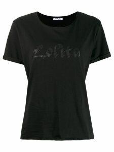 Parlor logo print T-shirt - Black