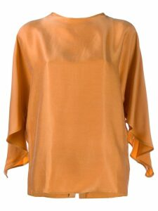 Áeron Adele button back blouse - ORANGE