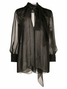 Carolina Herrera pussy bow blouse - Black