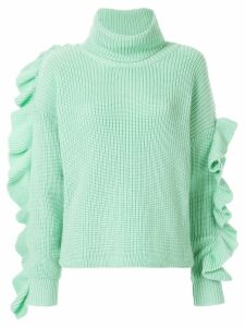 Anna October turtlneck jumper - Green