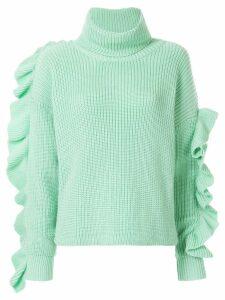 Anna October turtlneck jumper - Green