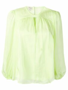 Temperley London Lullaby blouse - Green