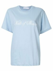 Walk Of Shame logo T-shirt - Blue