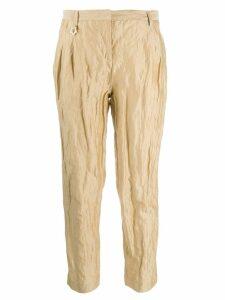 Lorena Antoniazzi cropped trousers - NEUTRALS