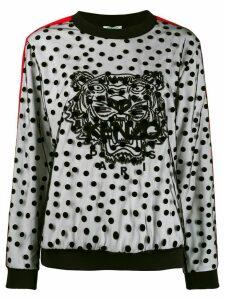 Kenzo polka dot tiger sweatshirt - Black